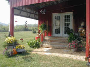 Tennessee Hourse Country Bed & Breakfast Guesthouse Entrance